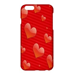 Red Hearts Apple iPhone 6 Plus/6S Plus Hardshell Case