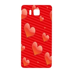 Red Hearts Samsung Galaxy Alpha Hardshell Back Case