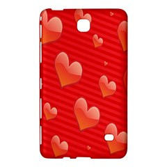 Red Hearts Samsung Galaxy Tab 4 (8 ) Hardshell Case