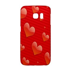 Red Hearts Galaxy S6 Edge
