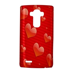 Red Hearts LG G4 Hardshell Case