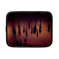 Silhouette Of Circus People Netbook Case (Small)