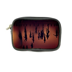 Silhouette Of Circus People Coin Purse