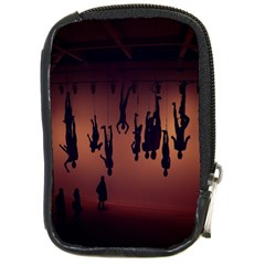 Silhouette Of Circus People Compact Camera Cases