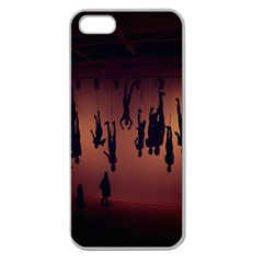 Silhouette Of Circus People Apple Seamless Iphone 5 Case (clear)