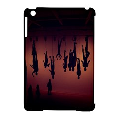 Silhouette Of Circus People Apple iPad Mini Hardshell Case (Compatible with Smart Cover)