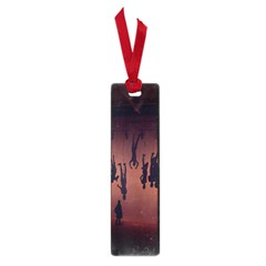 Silhouette Of Circus People Small Book Marks