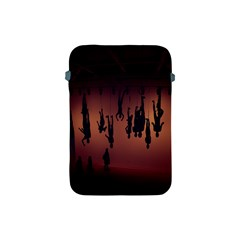 Silhouette Of Circus People Apple iPad Mini Protective Soft Cases