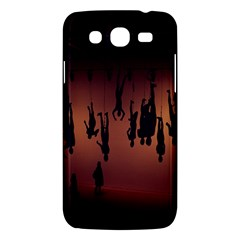 Silhouette Of Circus People Samsung Galaxy Mega 5.8 I9152 Hardshell Case