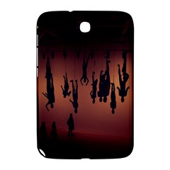 Silhouette Of Circus People Samsung Galaxy Note 8.0 N5100 Hardshell Case