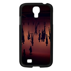 Silhouette Of Circus People Samsung Galaxy S4 I9500/ I9505 Case (Black)