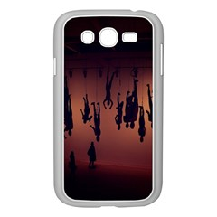Silhouette Of Circus People Samsung Galaxy Grand DUOS I9082 Case (White)