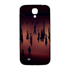 Silhouette Of Circus People Samsung Galaxy S4 I9500/I9505  Hardshell Back Case