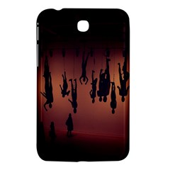 Silhouette Of Circus People Samsung Galaxy Tab 3 (7 ) P3200 Hardshell Case