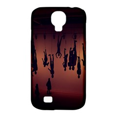 Silhouette Of Circus People Samsung Galaxy S4 Classic Hardshell Case (PC+Silicone)