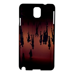 Silhouette Of Circus People Samsung Galaxy Note 3 N9005 Hardshell Case