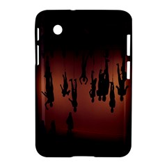 Silhouette Of Circus People Samsung Galaxy Tab 2 (7 ) P3100 Hardshell Case