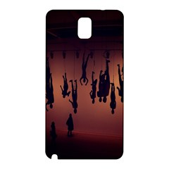 Silhouette Of Circus People Samsung Galaxy Note 3 N9005 Hardshell Back Case