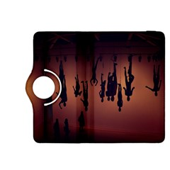 Silhouette Of Circus People Kindle Fire HDX 8.9  Flip 360 Case