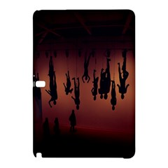 Silhouette Of Circus People Samsung Galaxy Tab Pro 10.1 Hardshell Case