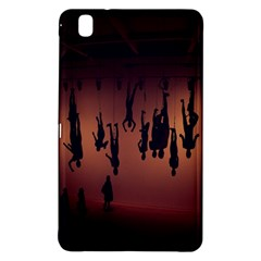 Silhouette Of Circus People Samsung Galaxy Tab Pro 8.4 Hardshell Case