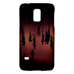 Silhouette Of Circus People Galaxy S5 Mini