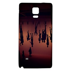 Silhouette Of Circus People Galaxy Note 4 Back Case