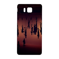 Silhouette Of Circus People Samsung Galaxy Alpha Hardshell Back Case