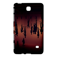 Silhouette Of Circus People Samsung Galaxy Tab 4 (7 ) Hardshell Case