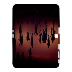 Silhouette Of Circus People Samsung Galaxy Tab 4 (10.1 ) Hardshell Case