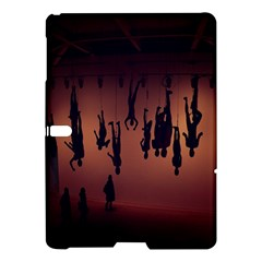 Silhouette Of Circus People Samsung Galaxy Tab S (10.5 ) Hardshell Case