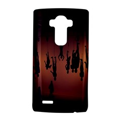 Silhouette Of Circus People LG G4 Hardshell Case
