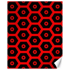 Red Bee Hive Texture Canvas 16  x 20