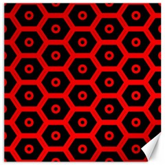 Red Bee Hive Texture Canvas 20  x 20