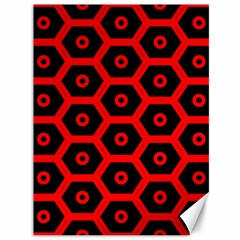 Red Bee Hive Texture Canvas 36  x 48
