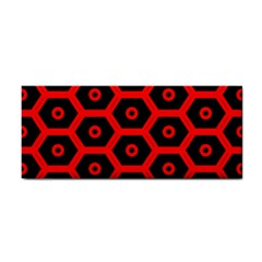Red Bee Hive Texture Cosmetic Storage Cases