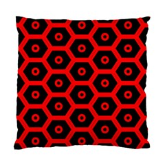Red Bee Hive Texture Standard Cushion Case (Two Sides)