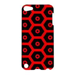Red Bee Hive Texture Apple iPod Touch 5 Hardshell Case