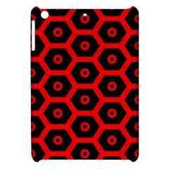 Red Bee Hive Texture Apple Ipad Mini Hardshell Case