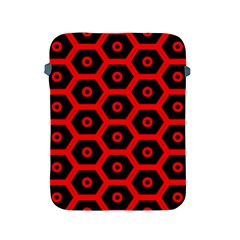 Red Bee Hive Texture Apple iPad 2/3/4 Protective Soft Cases