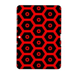 Red Bee Hive Texture Samsung Galaxy Tab 2 (10.1 ) P5100 Hardshell Case