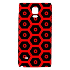 Red Bee Hive Texture Galaxy Note 4 Back Case