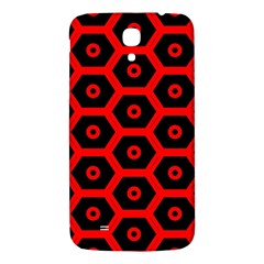 Red Bee Hive Texture Samsung Galaxy Mega I9200 Hardshell Back Case