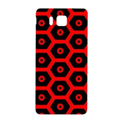 Red Bee Hive Texture Samsung Galaxy Alpha Hardshell Back Case