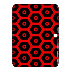 Red Bee Hive Texture Samsung Galaxy Tab 4 (10.1 ) Hardshell Case