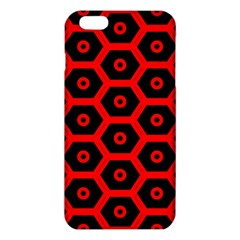Red Bee Hive Texture iPhone 6 Plus/6S Plus TPU Case