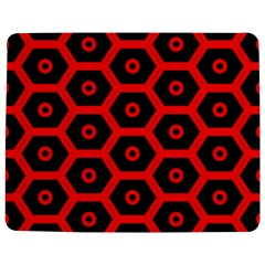 Red Bee Hive Texture Jigsaw Puzzle Photo Stand (Rectangular)
