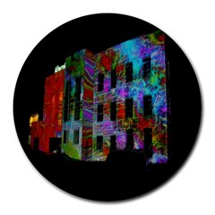 Science Center Round Mousepads