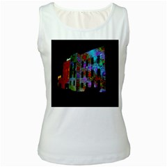 Science Center Women s White Tank Top