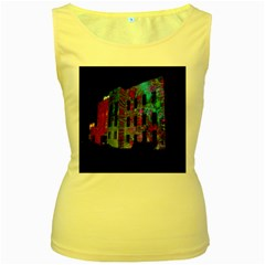 Science Center Women s Yellow Tank Top